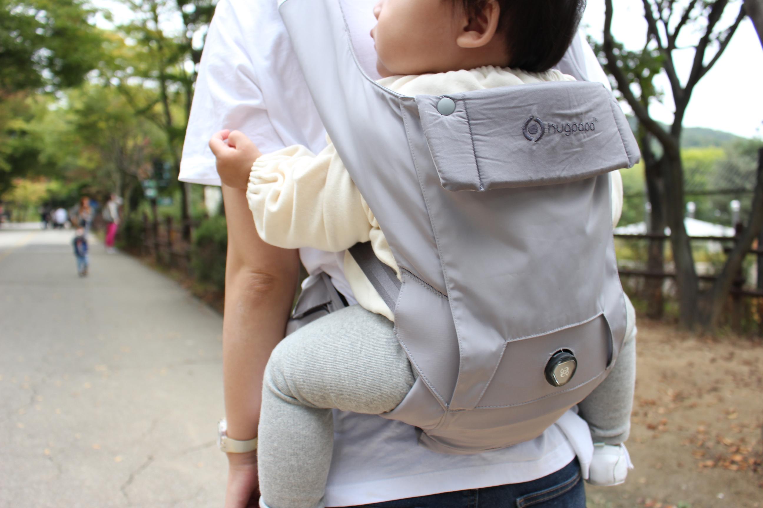다이얼핏 아기띠 모드 뒷모습