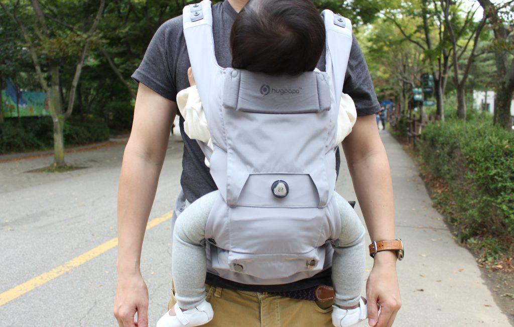 다이얼핏 아기띠 모드 앞모습
